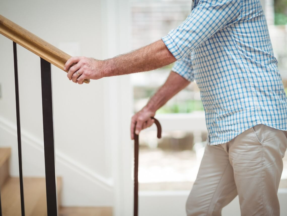 How to Make Stairs Safe for Seniors