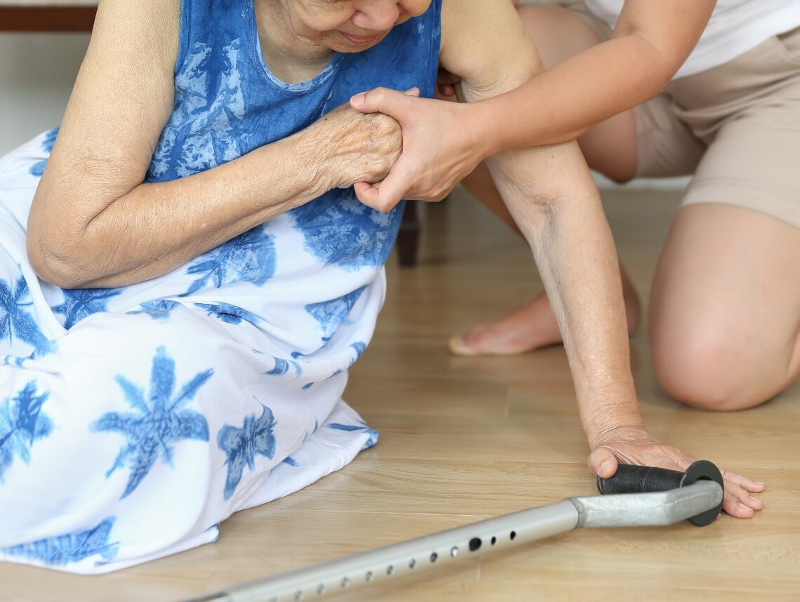 How to Help a Senior After a Fall