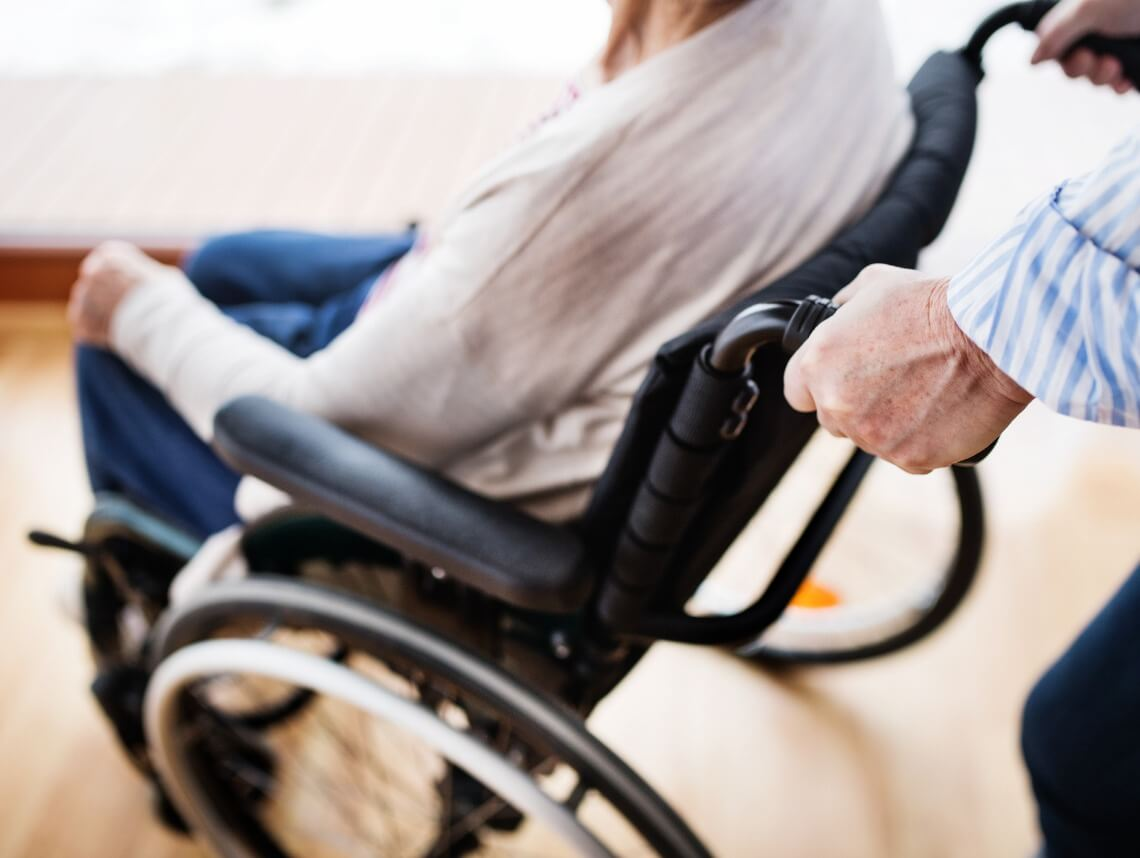 How to Help Seniors Use a Wheelchair