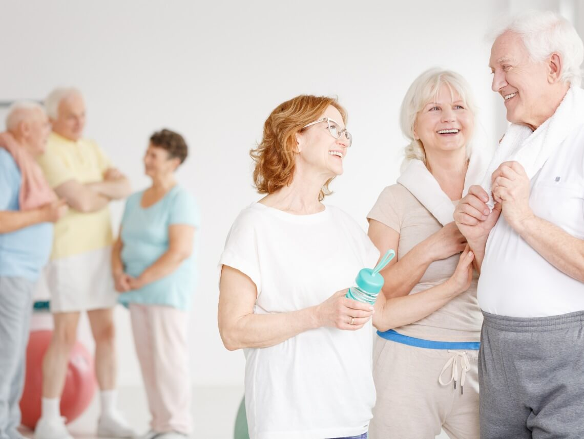 Benefits of Group Exercise Classes for Seniors