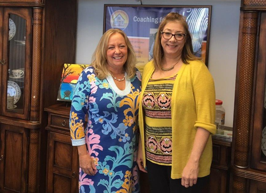 Linda Shaifer Visits Alzheimer's Care Resource Center