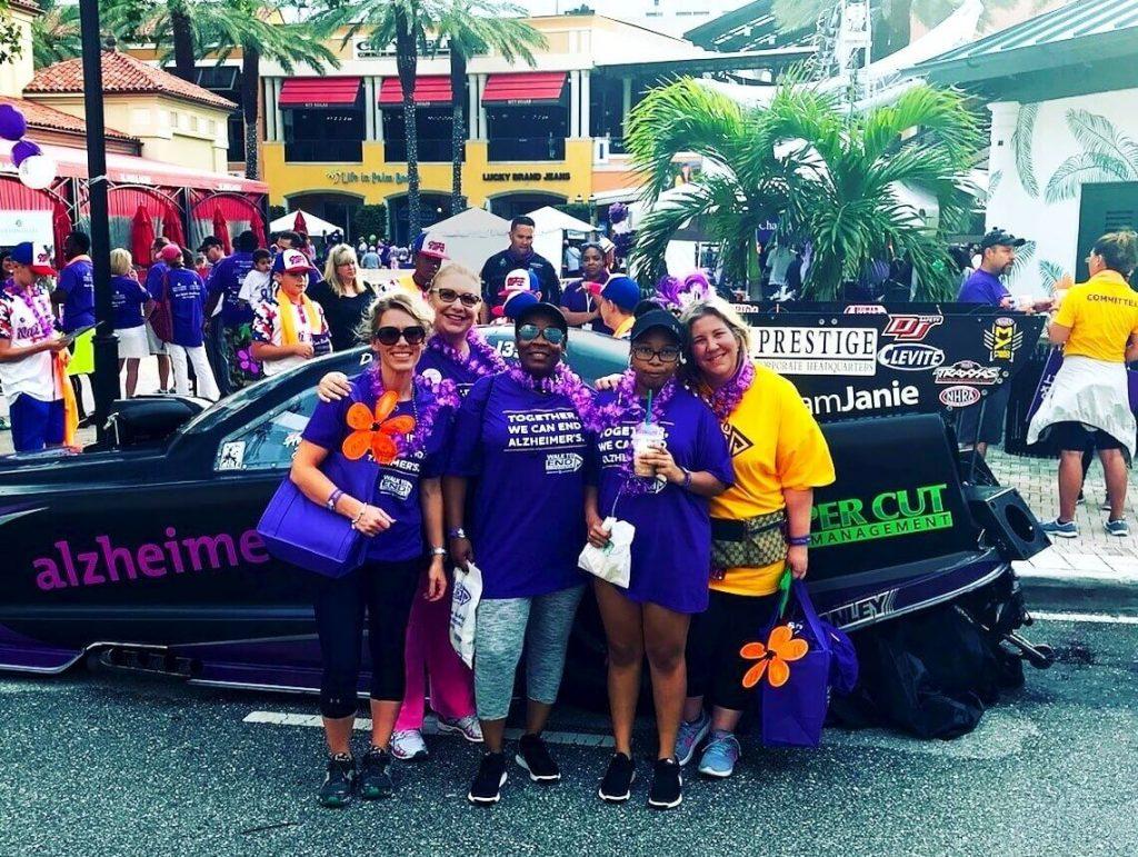 Sonas Team Walks to End Alzheimer's