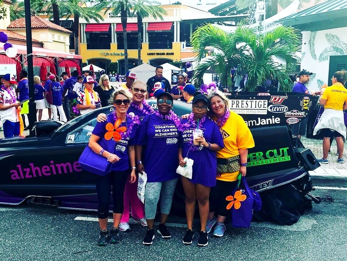 Sonas Team Walks to End Alzheimer's