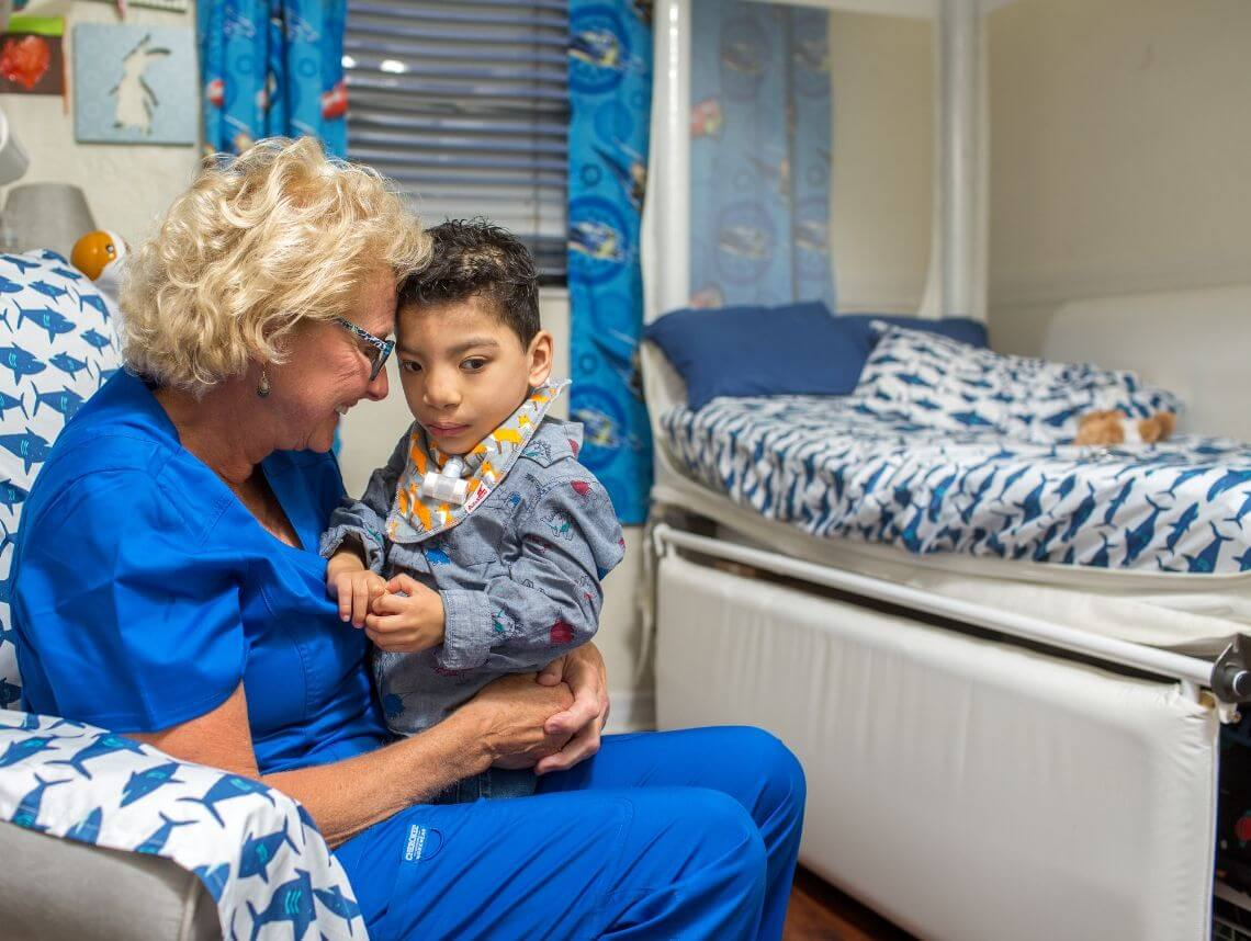 Barbara Finds Her Calling In Pediatric Home Healthcare