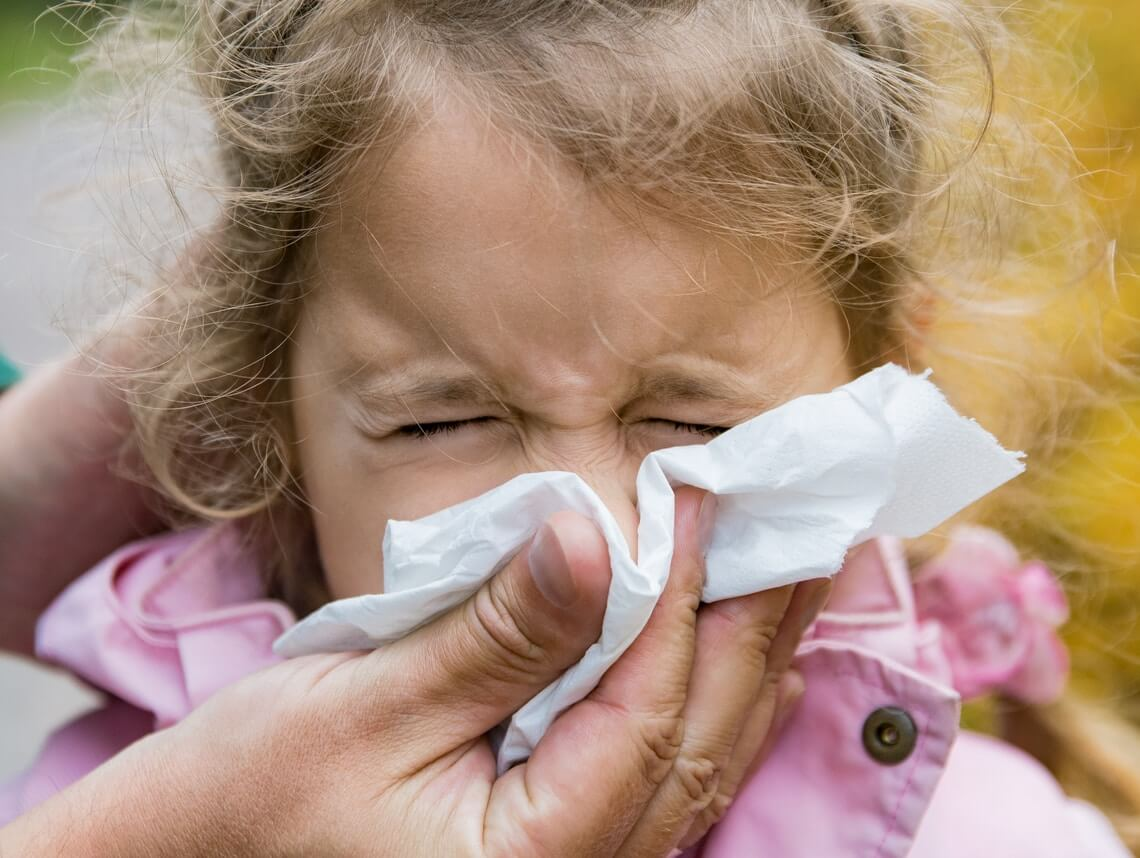 How to Help a Child with Seasonal Allergies